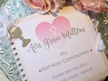 Personalised First Holy Communion Guest Book/Album